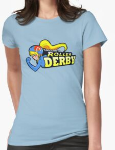 Tallon IV roller derby Womens Fitted T-Shirt