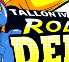 Tallon IV roller derby Sticker