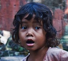 Cambodian Boy by phil decocco