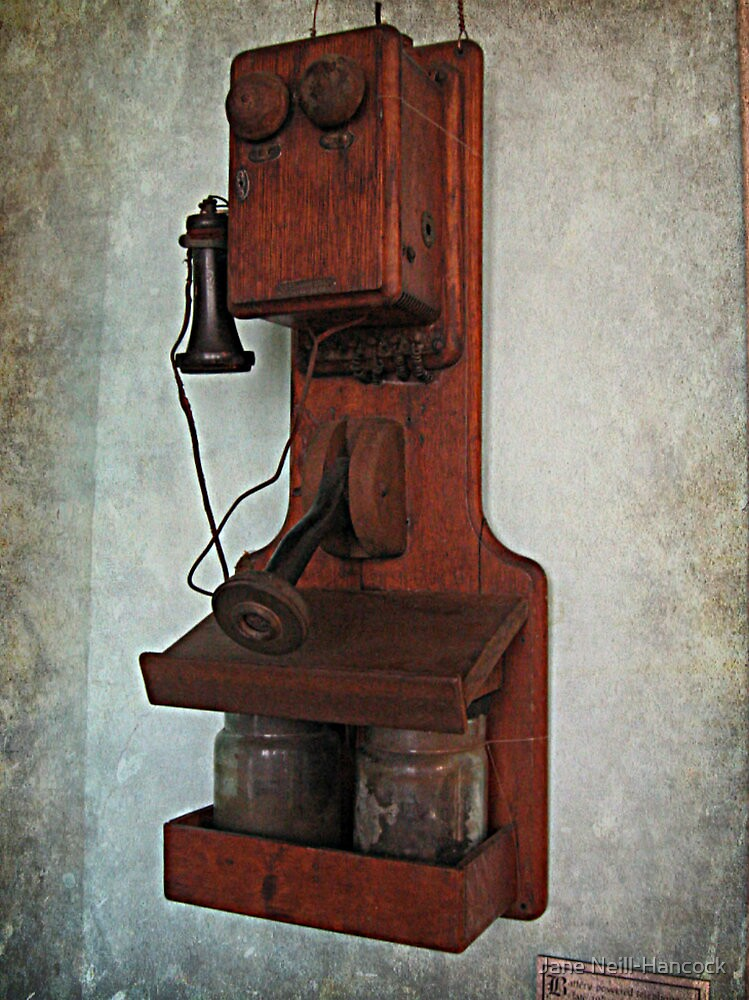 VERY Old Telephone, Lambert Castle Museum, Paterson NJ by Jane Neill-Hancock