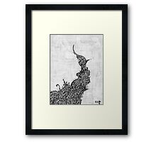 These Thoughts Morph Framed Print