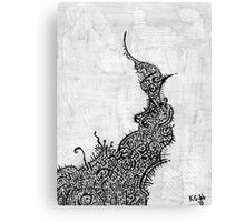 These Thoughts Morph Canvas Print