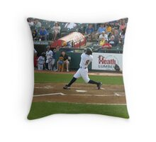 And He Swings! Throw Pillow