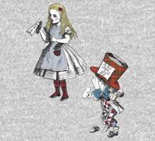 Scottish Alice in Wonderland Mad Hatter T-Shirt by simpsonvisuals