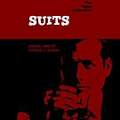 Suits, retro iphone case by dgoring