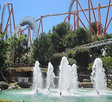 Revolution at Six Flags Magic Mountain by MontagnaMagica