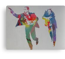Technicolour Butch and Sundance Canvas Print