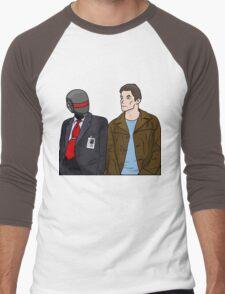 Daft Bunk Men's Baseball ¾ T-Shirt