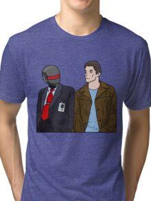 Daft Bunk Tri-blend T-Shirt