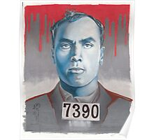 portrait of carl panzram Poster