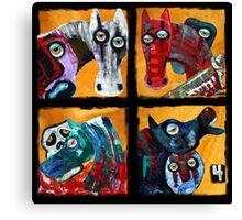 4 Horsemen Canvas Print