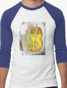 Mask of Thorns (B) Men's Baseball ¾ T-Shirt