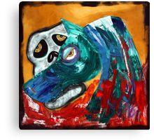 Death - The Green Horse Canvas Print