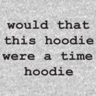 Timehoodie by CatMan2point0