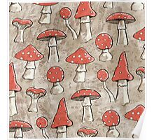 Spotty Fungi Poster