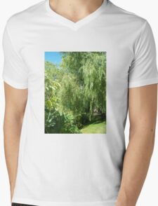 Willow Tree Mens V-Neck T-Shirt