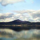Lago di Bracciano by HazardousCoffee