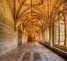 Cloisters At The Monastery by manateevoyager