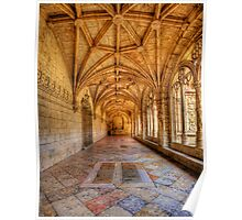 Cloisters At The Monastery Poster