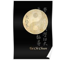 ying yang tai chi symbol Poster
