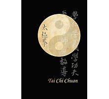 ying yang tai chi symbol Photographic Print