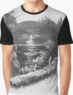 Sepia Caribbean Magic Graphic T-Shirt