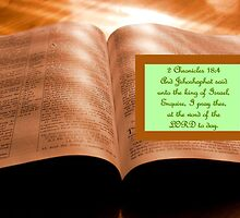 Enquire at the word of the Lord by aprilann