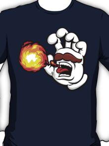 Mushroom Kingdom Plumbing Hand T-Shirt