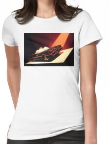 60s Lego Batmobile Womens Fitted T-Shirt