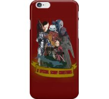 A special scary Christmas - Doctor Who iPhone Case/Skin