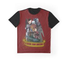 A special scary Christmas - Doctor Who Graphic T-Shirt