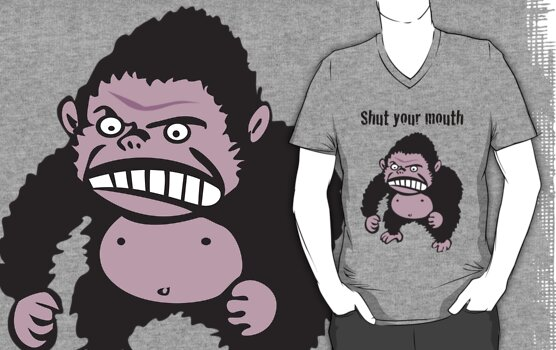 Angry Gorilla by Honeyboy Martin