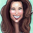 Kate Middleton Caricature by Kevin Middleton