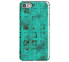 Turquoise lights iPhone Case/Skin