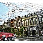 Super Cool Sixty Corvette Touring Town by Randy & Kay Branham