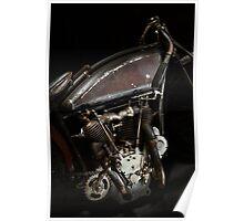 Excelsior Board Track Racer Engine Poster