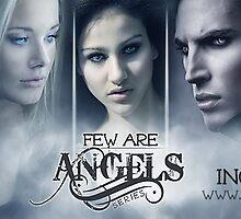 Few Are Angels Release Banner by Regina Wamba