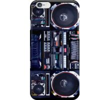 Old School Boombox iPhone Case iPhone Case/Skin