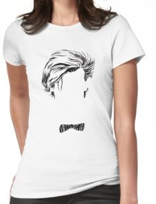 Who's that Bowtie Womens Fitted T-Shirt