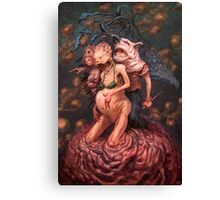 Daggerboy and the Unfortunate Costumes Canvas Print