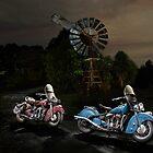 Vintage Indian Motocycles by Frank Kletschkus