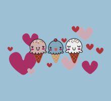 Ice Cream You Scream Kids Tee