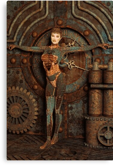 Steampunk Camouflage by Liam Liberty
