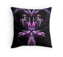The Valentine Orchid Throw Pillow
