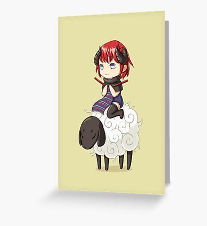 Knitting Adventure Greeting Card