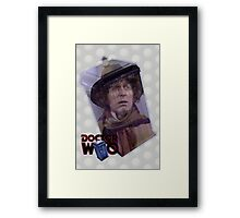 Tom Baker Poster Framed Print