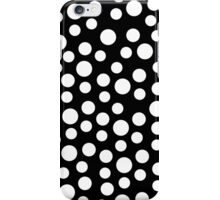 Black And White Polka Dots IPhone and Ipod Cases iPhone Case/Skin