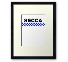 SECCA (security) Framed Print
