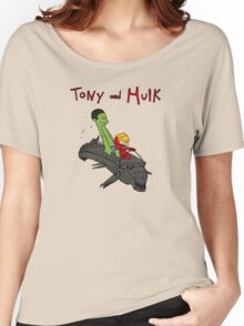 Tony and Hulk Women's Relaxed Fit T-Shirt