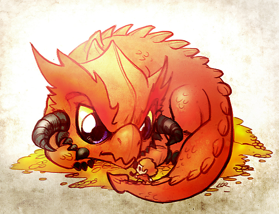 Smaug the Terrible by Lorraine Schleter
